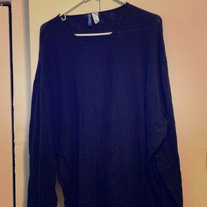 H&M Men's XXL Black Sweater